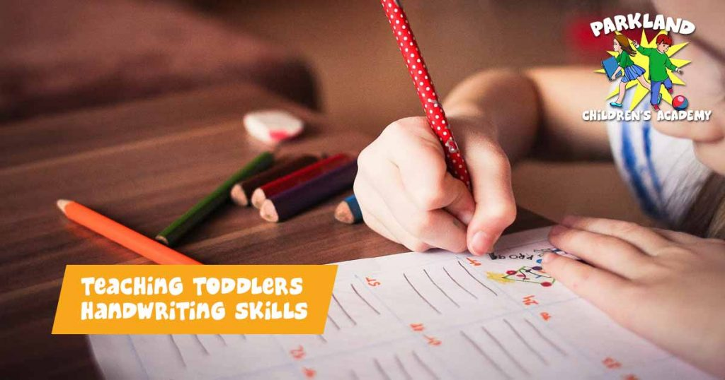 Toddlers Handwriting Skills
