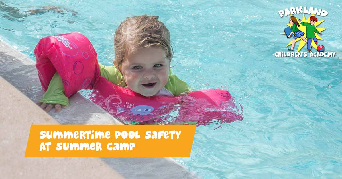 Pool Safety At Summer Camp
