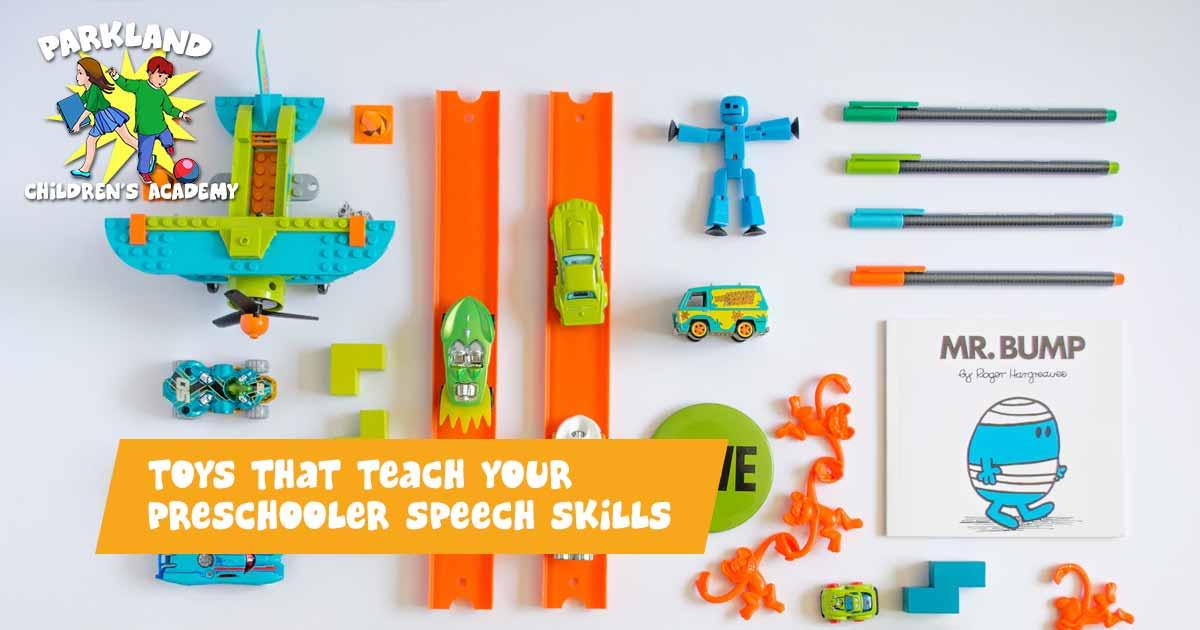 Preschooler Speech Skills